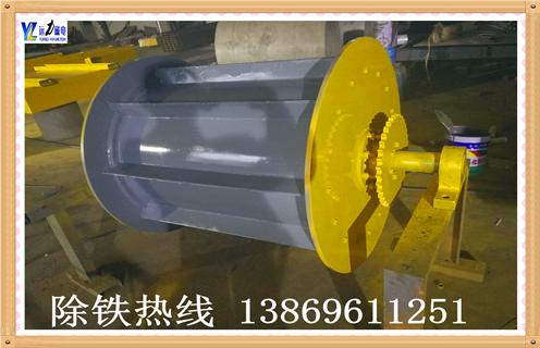 徐州滚筒磁选炉渣中的铁块是如何处理的