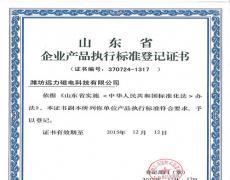 远力磁电产品执行标准